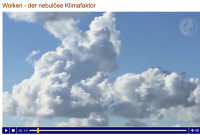 Globale Klimamodelle Screenshot Video Wolken